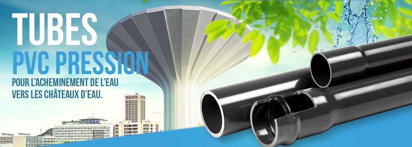 Tube Pvc Pression Sippec